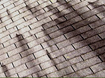 roof dicsoloration - dicolored roof roof stains